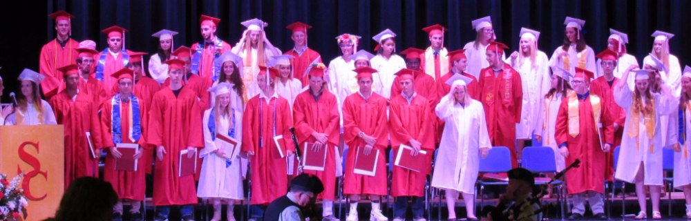Picture of graduation.